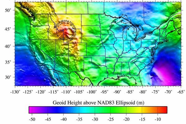 Гравитационная аномалия Йеллоустоунской глобальной горячей точки