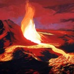 Извержения вулкана Килауэа.