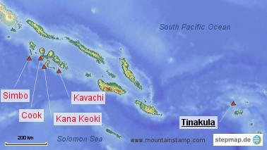 Kavachi Submarine Volcano Eruptions